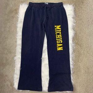 Champion University of Michigan lounge pants